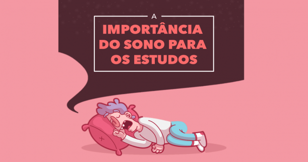 Vantagens do Sono durante o estudo Capa