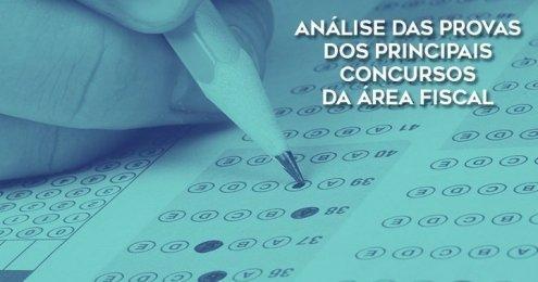 ANÁLISE DAS PROVAS DOS PRINCIPAIS CONCURSOS DA ÁREA FISCAL Capa