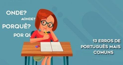 13 erros de português mais comuns