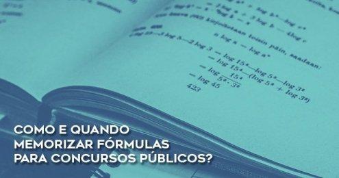 Como memorizar fórmulas