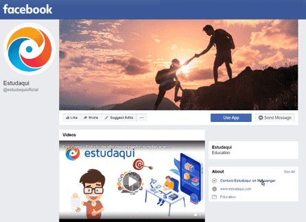 Facebook Estudaqui